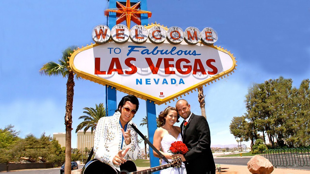 Las Vegas Wedding Elvis